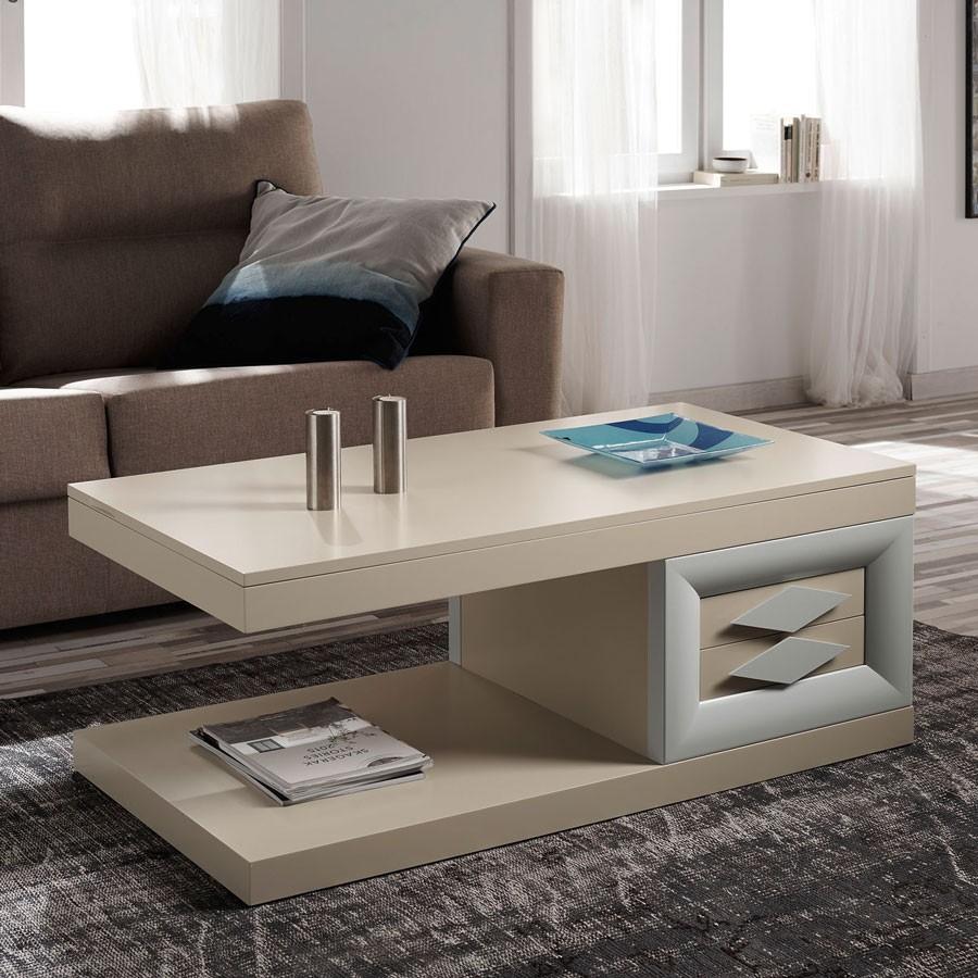 Fotos de mesas de centro simple mesa de centro modulable for Mesa de centro blanca