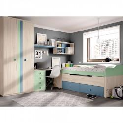 Dormitorio Toldu